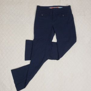 CARTIONNIER Navy Blue Charlie Cropped Flare Pant